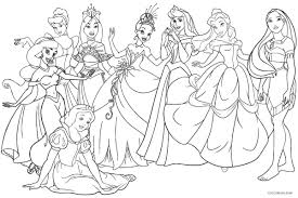 Print out all the princess coloring sheets to create a personalized princess coloring book. Printable Princess Coloring Pages Disney Princess Color Pages Printable Coloring With Free Vietti Birijus Com Disney Princess Coloring Pages Disney Coloring Sheets Princess Coloring Pages Printables
