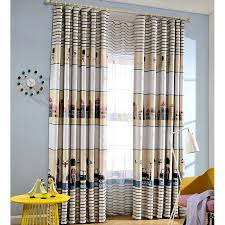 england style cartoon patterns interseting room for kids curtains