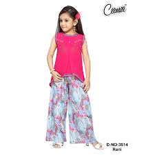 Stylish Plazo Suit Design Letest Stylish Girls Dresses Plazo Suit View Girls Casual Plazzo Suit Ceemee Product Details From United Export Consortioum On Alibaba Com