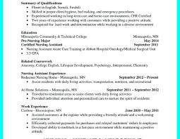 Cna Resumes Objectives Cna Resume Sample 5 6 Cna Resumes Nursing