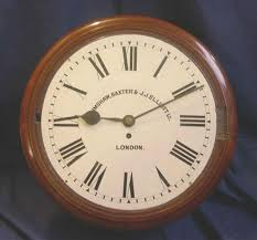 english clockmaking firm in london and nottimgham a gbjje wall clock