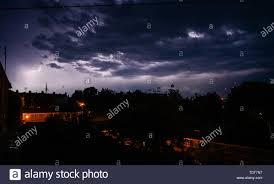 Brighton Night Light Parts Stormy Night Uk Stock Photos Stormy Night Uk Stock Images