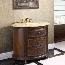 legion 36 inch vintage bathroom vanity chest cherry brown finish