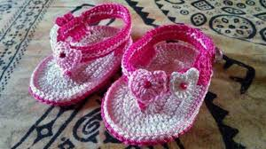 Crochet Baby Sandals Pattern Gorgeous Adorable And FREE Crochet Baby Sandals Patterns YouTube