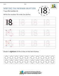 Looking for kindergarten writing template kindergarten writing paper? Kindergarten Writing Worksheets Numbers To 11 To 20