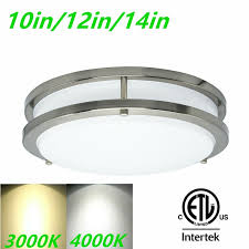 What Is A Flush Mount Ceiling Light Mingbright 10 12 14 Dimmable Led Flush Mount Ceiling Light Fixture Kitchen
