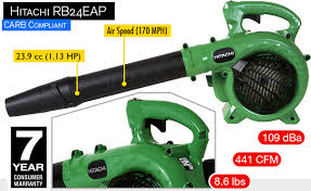 hitachi gas leaf blower. hitachi leaf blower rb24eap. gas model. z