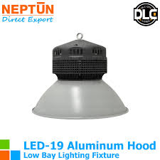 led 18 inch aluminum low bay fixture 100w