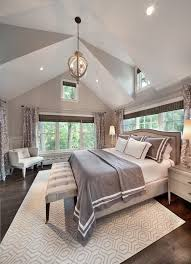chair rail molding bedroom traditional with gray square decorative pillows