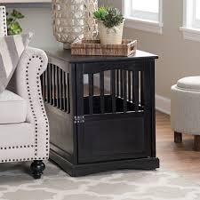 furniture pet crates. #dog Crate Furniture, End Table, #decorative Dog Crates, Furniture Pet Crates