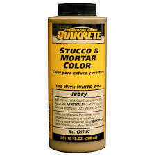 Quikrete Stucco And Mortar Color Chart Quikrete 10 Fl Oz Ivory Stucco And Mortar Colorant 131902