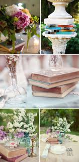 using vine books bined with sprigs of fl is a wonderful and inexpensive way to create a wedding centerpiece
