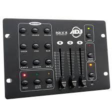 Chauvet Rgb Color Chart Rgb 3c Ir A Basic 3 Channel Rgb Led Controller