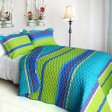 exotic fantasy wood 2 piece twin quilt set photo 1