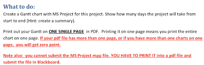 How To Print Gantt Chart In One Page Synopsis You Are A Project Manager For A Small Sys