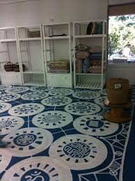 Image of: painting concrete floors ideas