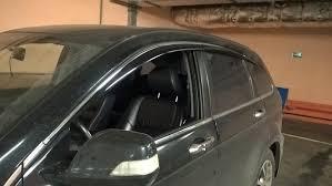 <b>Дефлекторы окон с</b> хромом на 6 стекол Honda CR-V III