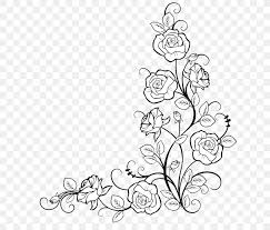 Tap on a color in the original image to set the hue to threshold against. Borders And Frames Coloring Book Rose Drawing Flower Png 700x700px Borders And Frames Blackandwhite Botany Branch