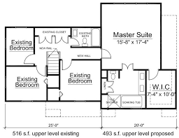 house addition plans. Floor Plan To 2nd Home Addition In Bethesda Maryland House Plans T
