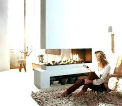 double sided natural gas fireplace canada two ed