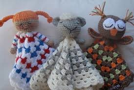 Free Crochet Lovey Pattern Beauteous Crochet Lovey Blankets Owl Kitten Bunny Teddy Bear And More