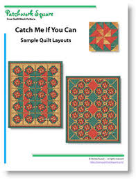 Catch Me If You Can - Free Quilt Block Pattern & Catch Me If You Can. Free Quilt Block Pattern Adamdwight.com