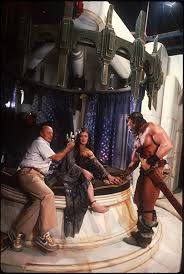 Arnold Schwarzenegger and Sarah Douglas at an event for Conan the Destroyer  (1984) in 2020 | Conan the destroyer, Sarah douglas, Conan movie