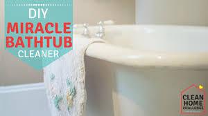 diy miracle bathtub cleaner