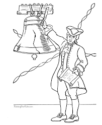 Small Picture Patriotic Symbols Liberty Bell coloring picture 015