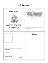 Free Passport Template For Kids passport template passport for kids passport wwwchillola 15
