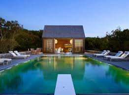 backyard infinity pools. Backyard Infinity Pools With Super Sleek Design Also Cube Shape Ideas And Simple Wood Deck Plus Outdoor Chaise Lounges Exterior Wooden Chairs Round