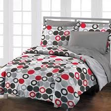35 best Comforters images on Pinterest | Game of, Architecture and ... & Modern chic red grey black twin comforter set girls boys teen new bedding Adamdwight.com