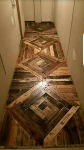 Floors Made From Pallets 755 Best Diy Flooring Ideas Images On Pinterest Homes Flooring