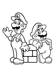 In this site you will find a lot of super mario coloring pages in many kind of pictures. Mario Coloring Pages 100 Best Images Free Printable