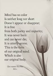 Draw Wings Mind Has No Color Zen Master Hui Hai 8th C