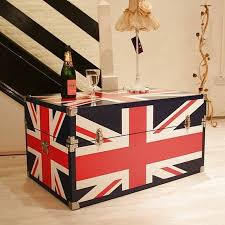 Union Jack Steamer Trunk