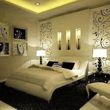 Splash Of Color In A Black White Environment - Black and white bedrooms  with a splash