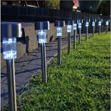 outdoor solar lights walkway