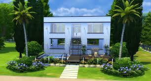 Small Picture The Sims 4 How to Build a Simple Modern House Sims Community