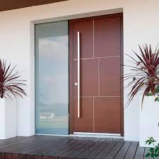 entry door swing wooden glass pattern