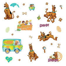 Scooby Doo Bedroom Accessories Similiar Scooby Doo Mystery Machine Stickers Keywords