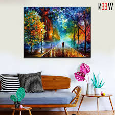 painting by numbers singapore ween rural landscape paintingnumber diy oil paint 40x50cm canvas