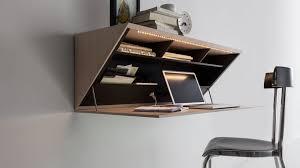 wall mounted office desk. contemporary secretary desk wooden wall mounted segreto with regard to modern u2013 home office