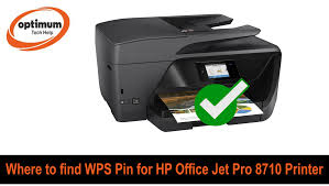 The instructions provided here is for 123 hp officejet pro 8710 printer with full feature downloadable drivers for windows and macos. Solved Where To Find Wps Pin On Hp Officejet Pro 8710 Printer
