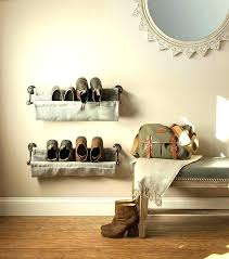 wall shoe rack organizer wall mounted shoe rack storage solution and a wall mounted shoe shelves wall shoe rack