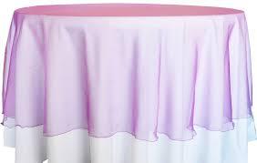 90 seamless round organza table overlay purple 55043 1pc pk
