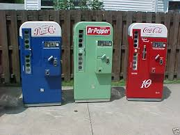 Vintage Pepsi Vending Machine Parts Beauteous American VMC Vendo 48 Pepsi Coke Dr Pepper Machine Professional