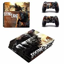Dying Light Playstation 4 Store Us 9 39 6 Off Game Dying Light Ps4 Pro Skin Sticker For Ps4 Playstation Console And Controllers Ps4 Pro Skins Stickers Decal Vinyl In Stickers From