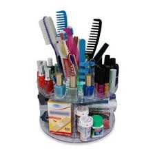 glam caddy rotating cosmetic organizer bedbathandbeyond
