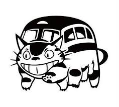 となりのトトロ ネコバス ねこばす 猫バス ステッカー シール デカール